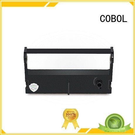 ribbon pr3 COBOL Brand zebra label printer ribbon factory